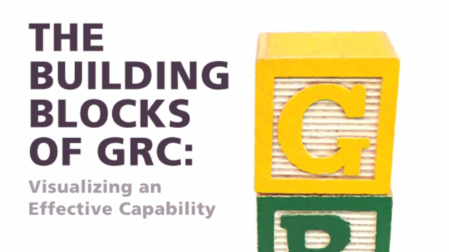 The Building Blocks of GRC